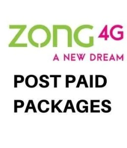 Zong Post paid