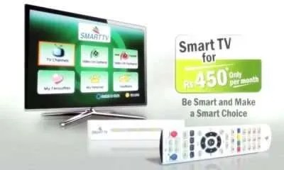ptcl smart tv packages