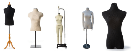 PNG Different Kinds Of Clothes Transparent Different Kinds Of     a random assortment of dress forms  standard and professional   PNG Different  Kinds Of Clothes