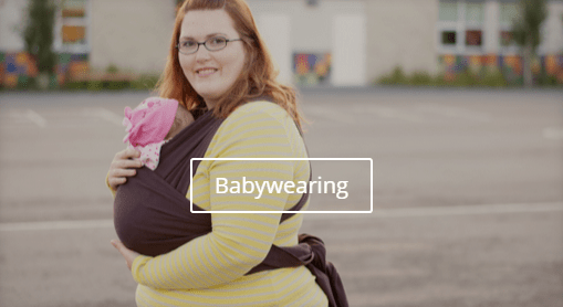 Babywearing for the plus size mom
