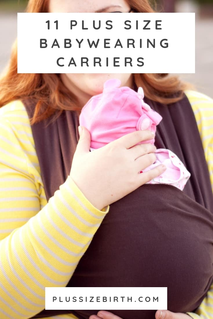 plus size babywearing carriers