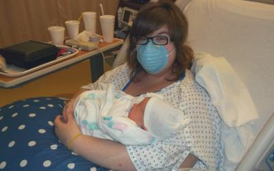 Giving Birth with the Flu: A Plus Size Birth Story