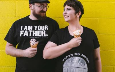 Star Wars Maternity Shoot: Channeling Our Inner Dorkiness