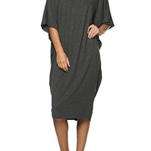 12-Ami-Solid-Basic-Short-Sleeve-Caftan-Cover-Up-Midi-Dress-Made-in-USA-0