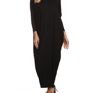 12-Ami-Solid-Long-Sleeve-Cover-Up-Maxi-Dress-Made-in-USA-0