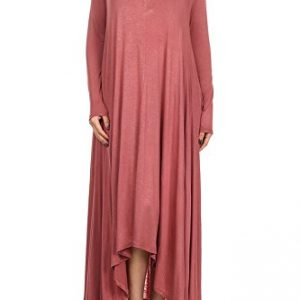 12-Ami-Solid-Long-Sleeve-Pocket-Loose-Maxi-Dress-Made-in-USA-0