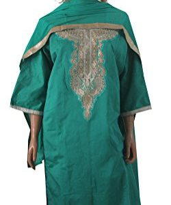 Apparelsonline-Indian-Plus-Size-50-Cotton-Salwar-Kameez-Wedding-Party-Wear-0