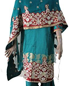 Apparelsonline-Plus-Size-Cotton-Silk-Indian-Salwar-Kameez-Dress-0