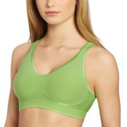 Bali Women's Comfort Revolution Wirefree Bra with Smart Sizes – X-Small, Girly Green
