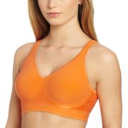 Bali Women's Comfort Revolution Wirefree Bra with Smart Sizes – X-Small, Nectarine