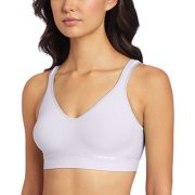 Bali Women's Comfort Revolution Wirefree Bra with Smart Sizes – Large, Amethyst Quartz