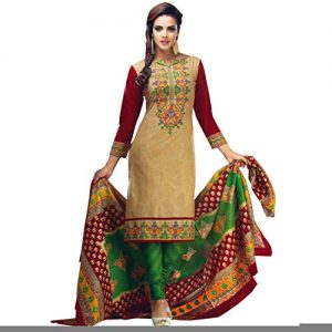 Designer-Printed-Cotton-Salwar-Kameez-Ready-To-Wear-Indian-Dress-Suit-0