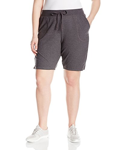 Just-My-Size-Womens-Plus-Size-French-Terry-Bermuda-Short-0