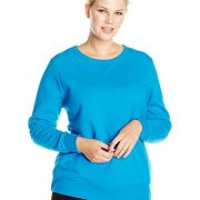 Just My Size Women's Plus-Size V-Notch Sweatshirt, Deep Dive, 28W/4XL