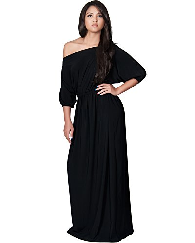 Koh-Koh-Womens-One-Shoulder-Cocktail-Evening-Elegant-Long-Maxi-Dress-0