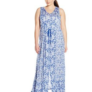 Lucky-Brand-Womens-Plus-Size-Mixed-Print-Dress-0