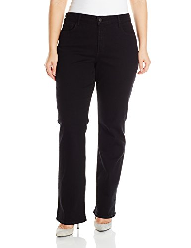 NYDJ-Womens-Plus-Size-Barbara-Bootcut-Jeans-In-Black-0