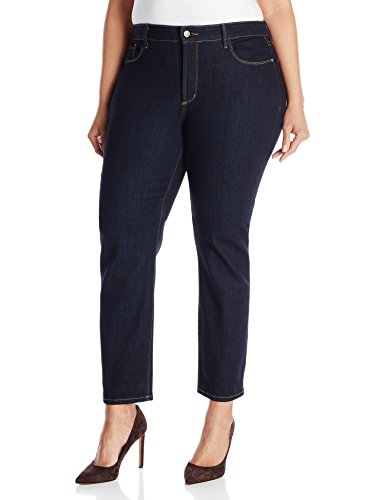 NYDJ-Womens-Plus-Size-Ira-Ankle-Jeans-In-Indigo-Denim-Dark-Enzyme-0