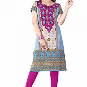 Printed-long-tunics-Kurti-tops-Multiple-Styles-colors-Short-Sleeves-Must-See-0-0