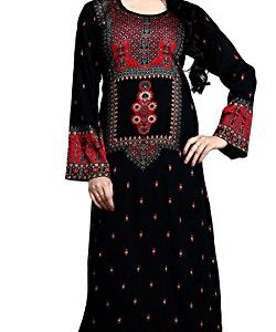 TrendyFashionMall-Womens-Printed-Kaftans-Abayas-Multiple-Colors-Designs-0