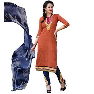 Designer-Sober-Embroidered-Printed-Cotton-Salwar-Kameez-Indian-Pakistani-Womens-Dress-0
