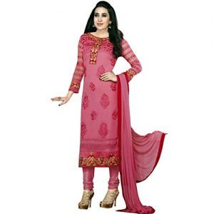 Designer-Wedding-Georgette-Embroidered-Salwar-Kameez-Suit-Indian-Bollywood-0