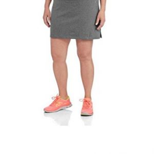 Womens-Plus-Size-Adjustable-Waist-Hidden-Pocket-Basic-Knit-Skort-0
