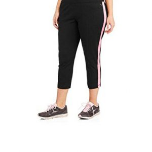 Womens-Plus-size-Dri-more-Capri-Pants-with-Sporty-Stripe-0