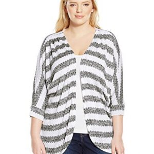 Allison-Brittney-Womens-Plus-Size-Striped-Knit-Dolman-Cardigan-Sweater-0
