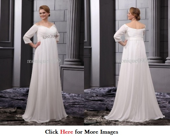 Plus Size Wedding Dresses With Sleeves For Formal Events