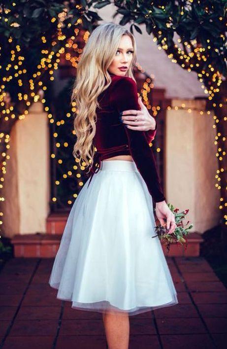 Christmas Wedding Guest Attire