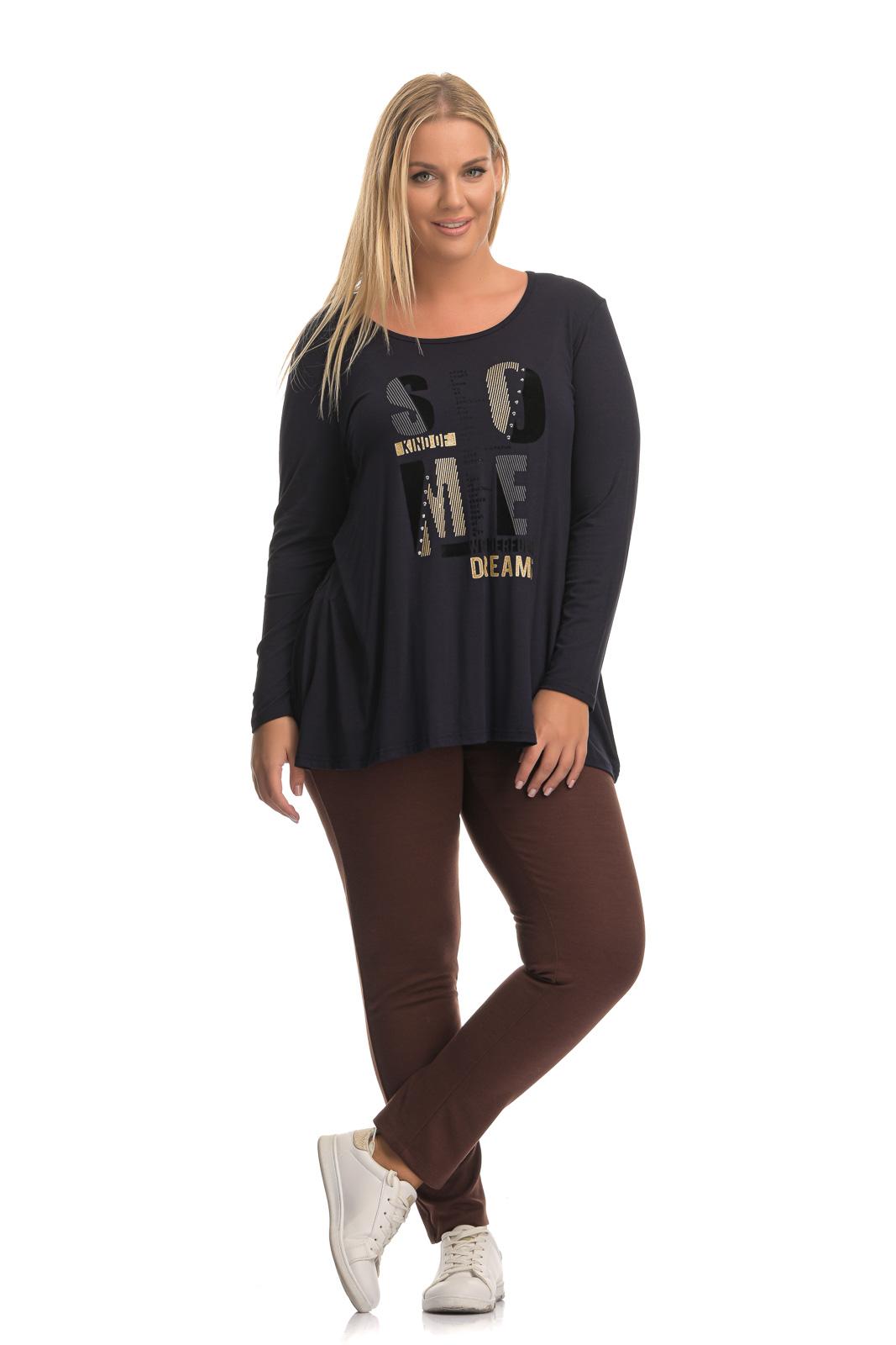 Παντελόνι ποντοστόφα μεγάλα μεγέθη καφέ σε κλασσική γραμμή..Στο eshop μας θα βρείτε οικονομικά γυναίκεια ρούχα σε μεγάλα μεγέθη και υπερμεγέθη.