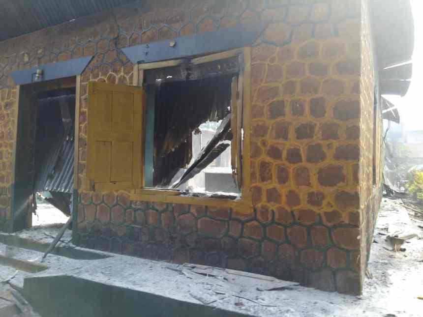 Anambra police station burnt down, IPOB fingered