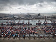 Container Port, Maasulakte, Rotterdam, The Netherlands 2011
