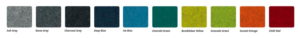 Blaze fabric options