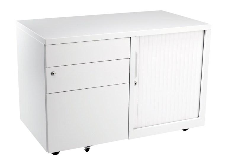 Bo caddie 900mm wide white