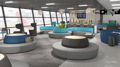Blaze Disc modular lounges