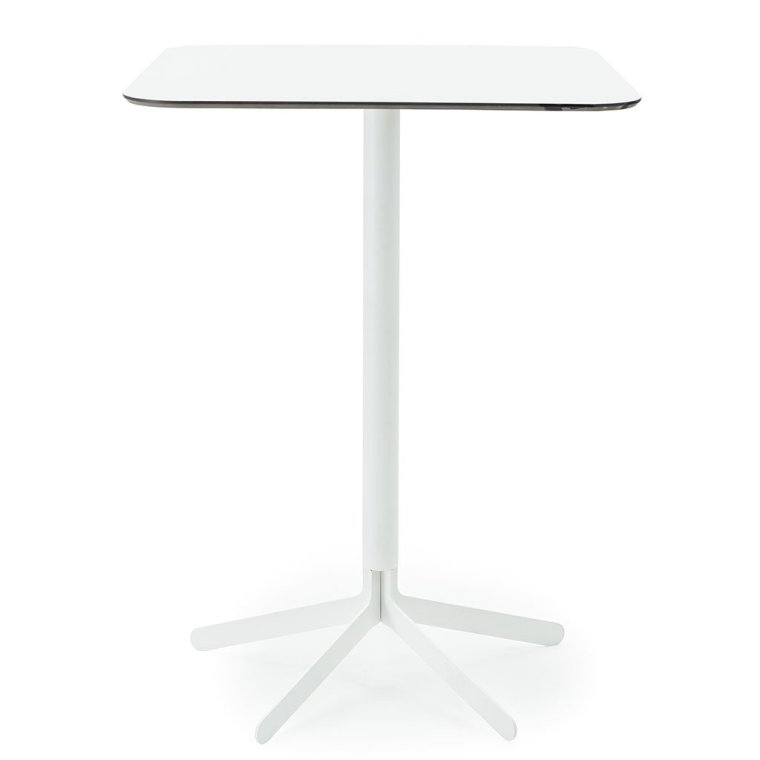 S17 Bar Table Square white