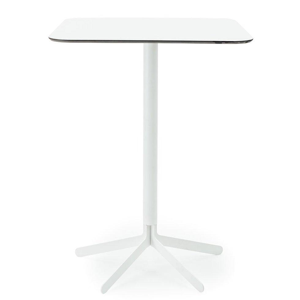 S17 Bar Table Square white