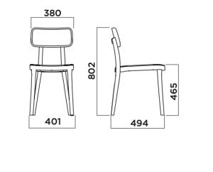 Porta Venezia Chair