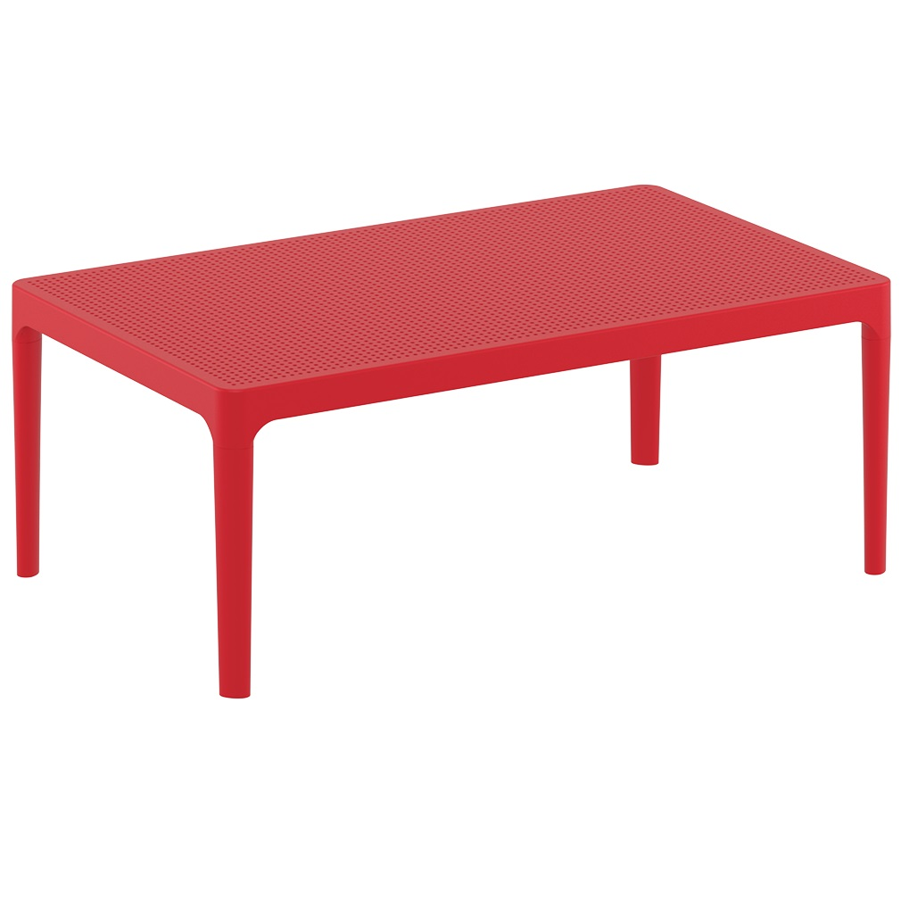 Ares Table Plus Workspace Red