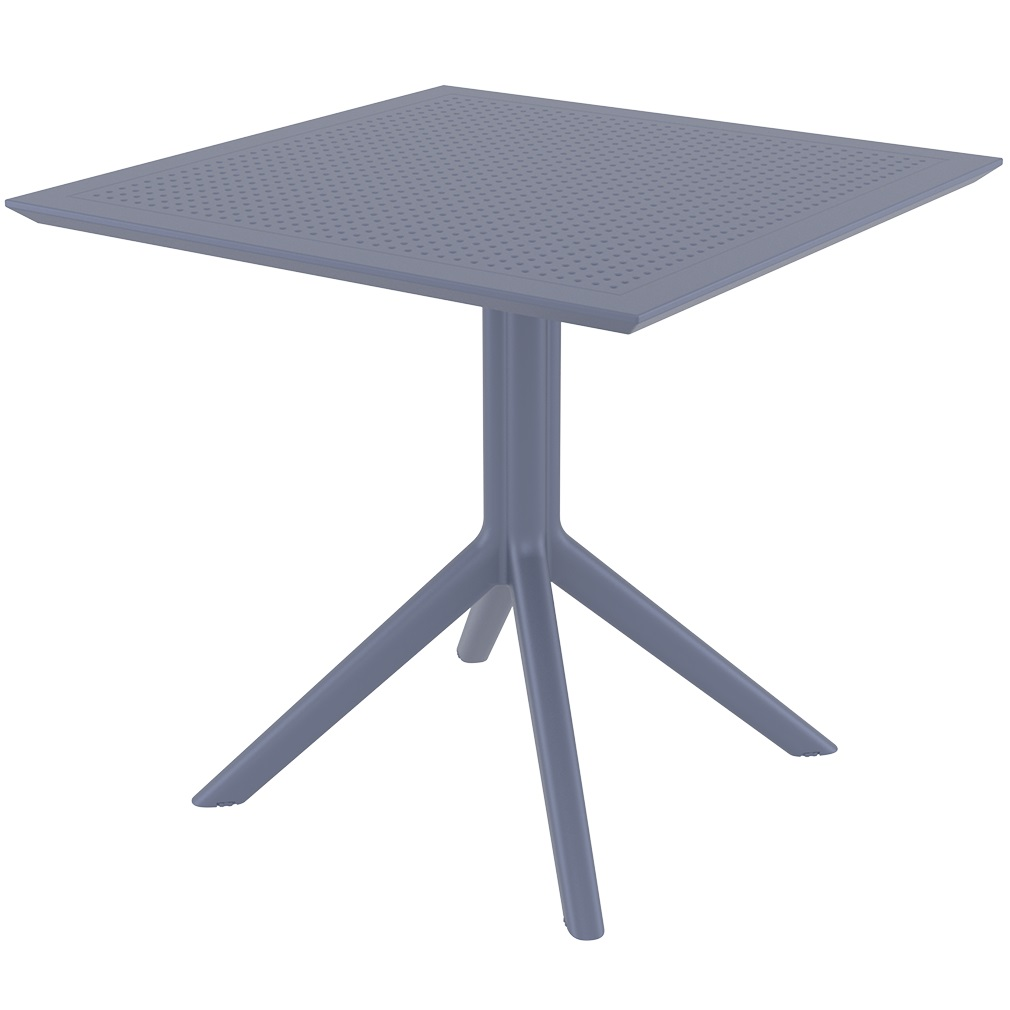 Ares café table Plus Workspace Anthracite