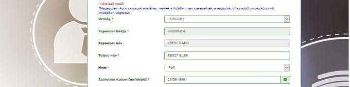 DXN regisztráció
