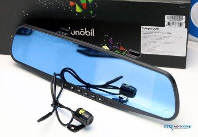Обзор Dunobil Spiegel Duo. Видеорегистратор в форме зеркала с 2-мя камерами