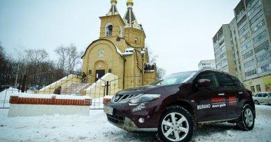 Nissan Murano русской сборки: Потаенны прошивки