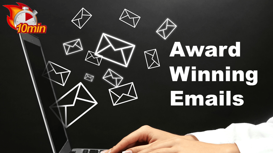 Award Winning Emails - Pluto LMS Video Library