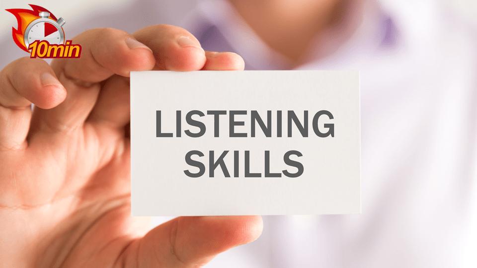 Listening Skills - Pluto LMS Video Library