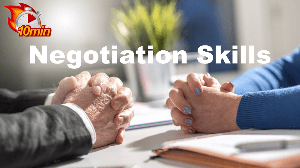 Negotiation Skills - Pluto LMS Video Library