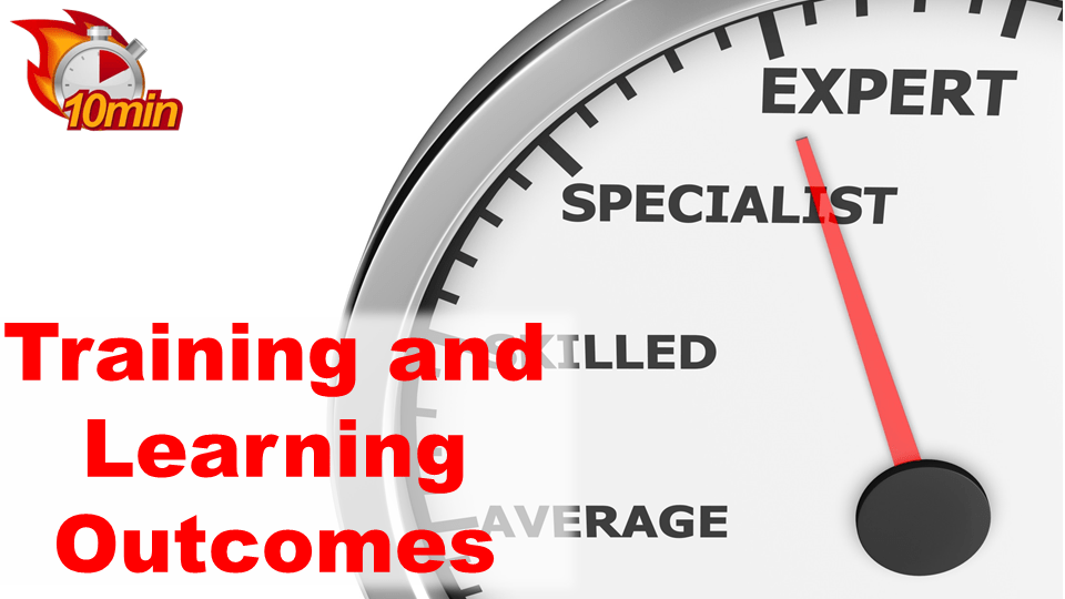 Training and Learning Outcomes
