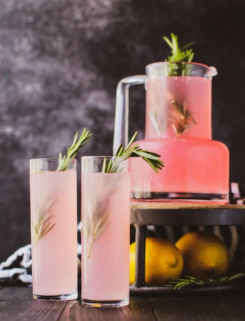 Watermelon Rosemary Lemonade – BY CHEF BRIANNA GALLO